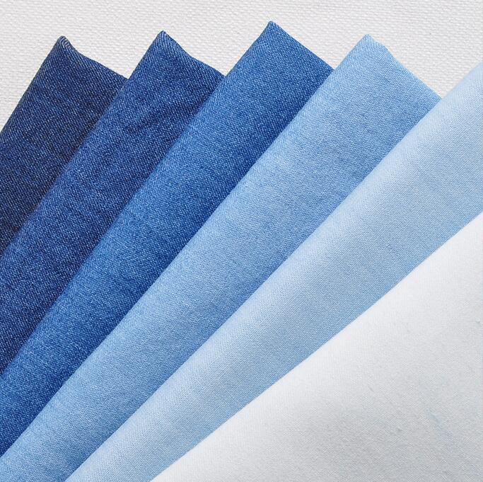 Arts,crafts & Sewing Self-Conscious Wholesale 11colour 0.8mm Thick Washed Denim Fabric Cotton Thick Pants Shirt Clothing Apron Jacquard Brocade Bag Sofa Fabric B186 Online Discount