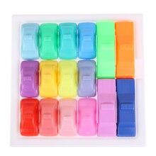 Newest Creative 160 Puzzles IQ Car font b Toys b font Kids Children Developmental Brain Teaser
