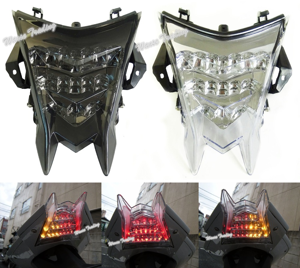 For BMW S1000RR HP4 S1000R E-Marked Rear Tail Light Brake Turn Signals Integrated LED Light e marked taillight tail brake turn signals integrated led light smoke for 1991 1992 1993 1994 1995 yamaha fzr1000 fzr 1000 exup