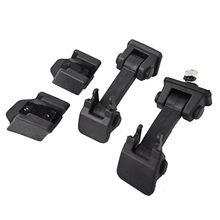 2x Car Hood Catch Lock Latches Buckle ABS Fit For Jeep Wrangler JK Unlimited Accessories Protect 2007-2016