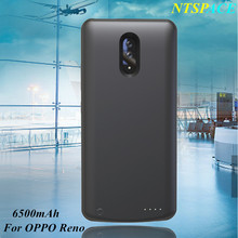 6500mAh Fashion Extenal Battery Charger Cases For OPPO Reno Portable Backup Powerbank Charging Case For OPPO Reno Battery Case