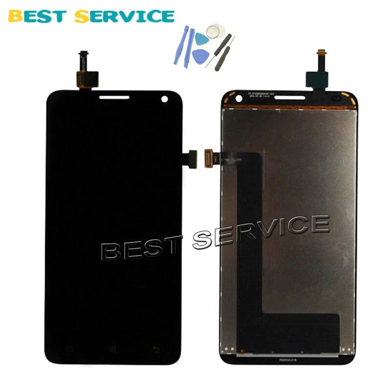 imágenes para 100% Probado Nuevo LCD Para Lenovo S580 LCD Pantalla + Touch Pantalla Digitalizador Asamblea + Herramientas de envío gratis