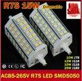 Dimmable R7S led 15W 25W 30W 35W  SMD5730 78mm J78 118mm J118 189mm LED light bulb light lamp replace halogen floodlight