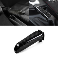 Car Carbon Fiber Hand Brake Set Cover Sticker for BMW X1 1 2 3 4 Series GT M4 G30 F30 F20 F10 E36 E39 E46 E60 E90 X5 E50