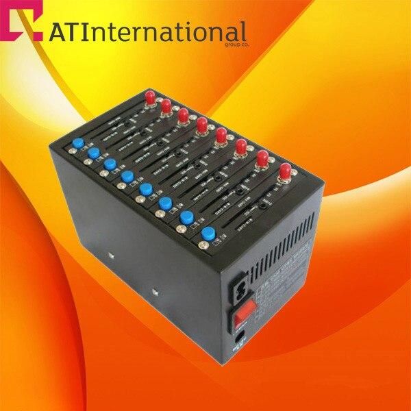 Mini 8 Ports wireless Q2303 gsm gprs Modem factory supply