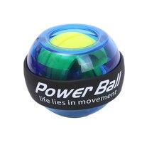 Наручные светодиодный мяч тренер гироскоп усилитель гироскопа Мощность мяч Мощность Мяч Тренажер для рук тренажер оборудование для тренаж...
