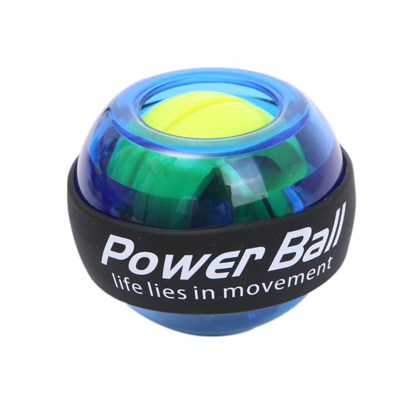 Wrist LED Ball Trainer Gyroscope Strengthener Gyro Power Ball Power Ball Arm Exerciser Exercise Machine Gym Fitness Equipment