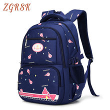 Children Nylon Printing Backpack Bookbags School Backpacks For Girls Schoolbag Bagpack Kids Princess Back Pack Schoolbags cool schoolbag big shark cartoon backpack black bookbags fashion primary school backpacks boys rucksack bagpack