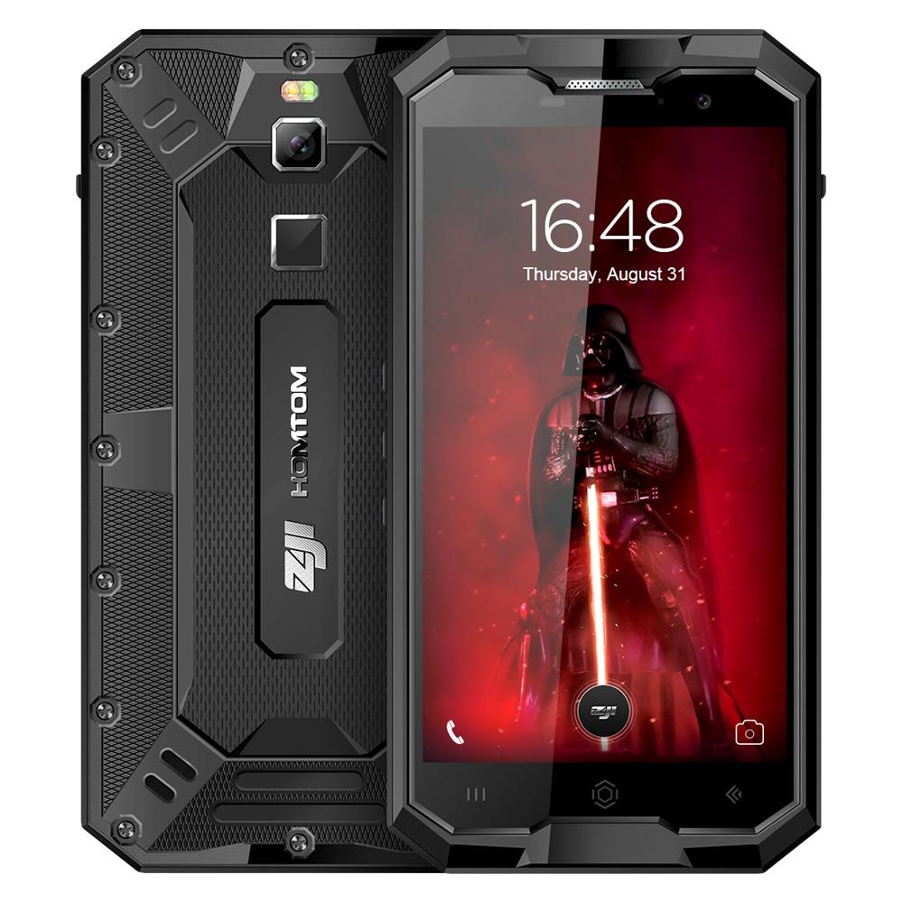 HOMTOM ZOJI Z8 4G Smartphone 5,0 Zoll Android 7.0 MTK6750 Octa-core 1,5 GHz 4 GB RAM 64 GB ROM IP68 Wasserdichte Fingerabdruck Touch