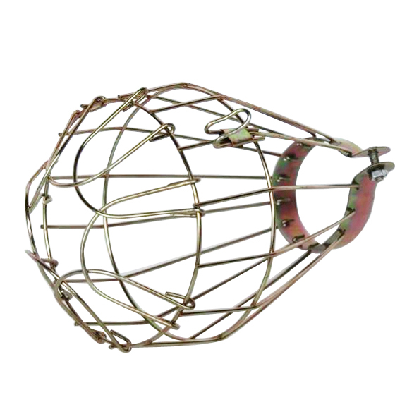 IMC hot Iron Wire Bulb Cage, Clamp On, Old Look, Vintage Lighting, Steampunk