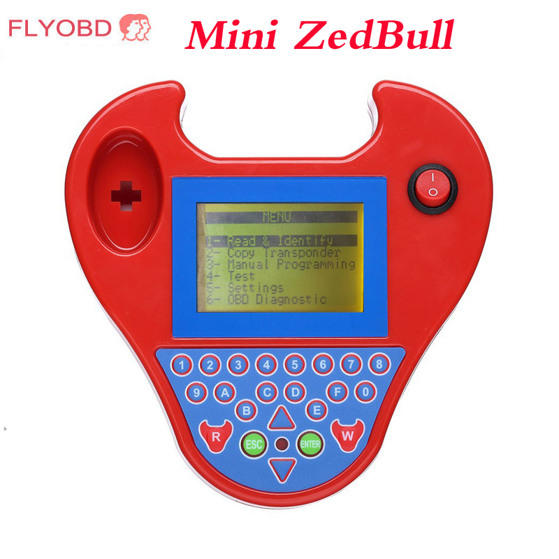 Prix pour 2017 Mini Intelligent ZedBull aie V508 Key Maker Clone Auto Key Transpondeur Zed Bull Multi-Langue Zed-Bull Lire Code Pin lecteur