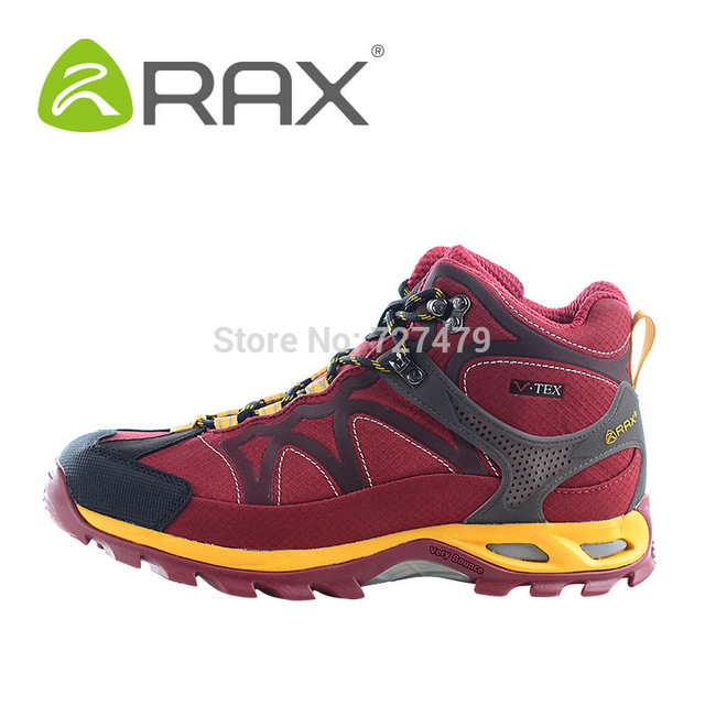 Botas Homens Rax Duplo À Prova D' Água Não Antiderrapante Sapatos Ao Ar Livre Homens Botas de Inverno Top Quality A602 Amortecimento Leve
