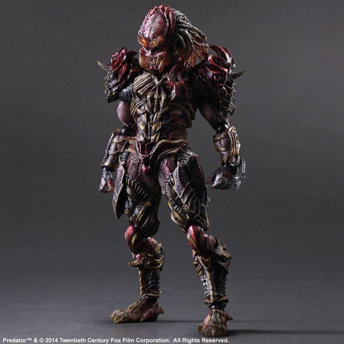 Predator Action Figure Playarts Kai Anime Toy Movie Alien Hunter Play Arts Kai Predator 260mm Collection Model movie avp aliens vs predator requiem variant action figure playarts figurine toys movie model play arts kai masked scar juguetes