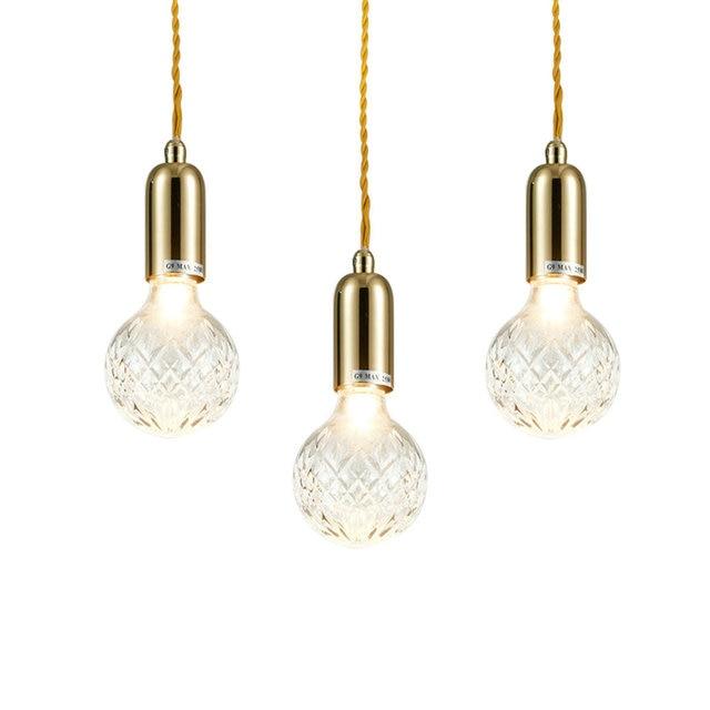Beroemd Moderne Glazen G9 LED Hanglampen Armatuur Hanglamp Designer Loft AN24