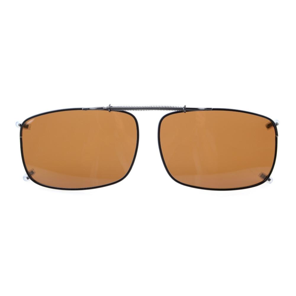 C60 Eyekepper 58x38 MM Clip-on Napszemüvegek a Spring Draw Bar - Ruházati kiegészítők