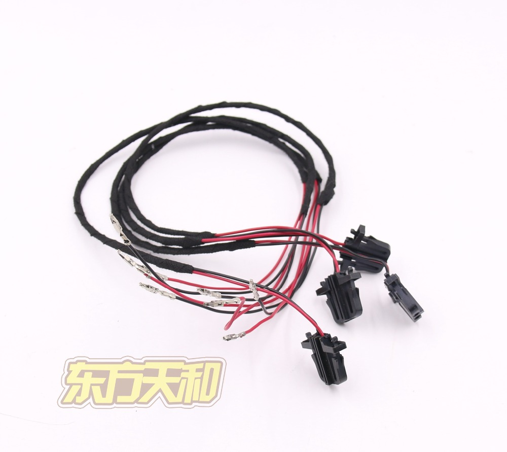 font b Door b font Warning Light Cable font b Harness b font Wire For online get cheap vw golf mk5 door harness aliexpress com For Ford 302 Fuel Injection Wiring Harness at alyssarenee.co