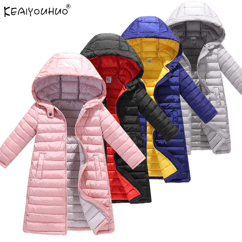 New Winter Girls Coats For Boys High Quality Jackets For Kids Clothes Warm Children Girls Jackets Coats Hooded Kids Outerwear