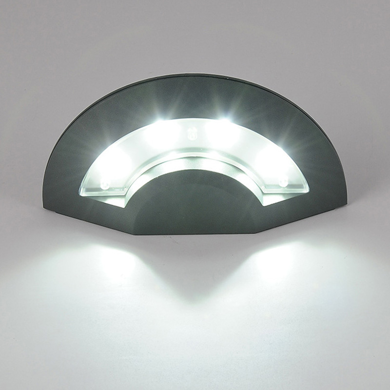 Ufo shaped led wall light ultra bright weatherproof indoor and ufo shaped led wall light ultra bright weatherproof indoor and outdoor lamp for room patio deck yard garden home hallway garage in wall lamps from lights workwithnaturefo