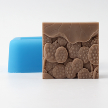 Nicole Silicone Soap Bar Mold for Natural Handmade Bath Bomb Chocolate Candy Mould