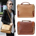 Promotions 2015 New Fashion Preppy Style Stamp One Shoulder Bags Women Leather Handbags Women Messenger Bags Women 12