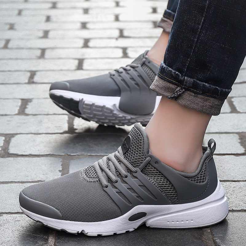 Comfortable Casual Shoes Breathable Lace Up Brand 2018 Spring Summer Shoes Men Breathable Shoes Fashion Adult size 46