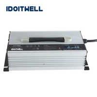 Chargeur intelligent adapté aux besoins du client de batterie de 24V 45A chargeur de li ion agm lipo 24V pour le paquet de batterie de puissance de 150AH 180AH 200AH 240AH 300AH 450AH