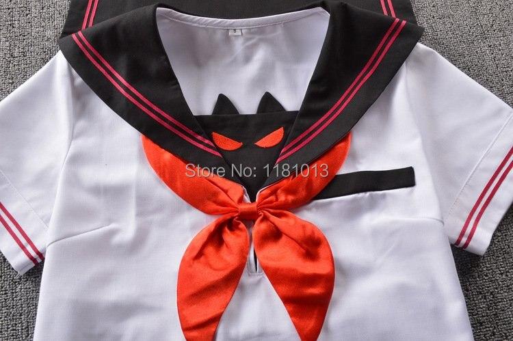 Японский высококачественный костюм моряка, летний костюм Kwan West с лацканами, маленький дьявол, костюм с короткими рукавами