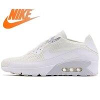 Оригинальная продукция Nike AIR MAX 90 ULTRA 2,0 FLYKNIT мужские кроссовки Nike Мужская дышащая амортизация низкий верх 875943