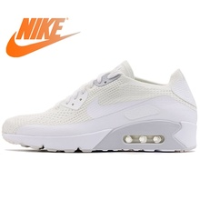 89f82cfffa Original NIKE AIR MAX 90 ULTRA 2.0 FLYKNIT Men's Running Shoes Sneakers Nike  Shoes Men Breathable