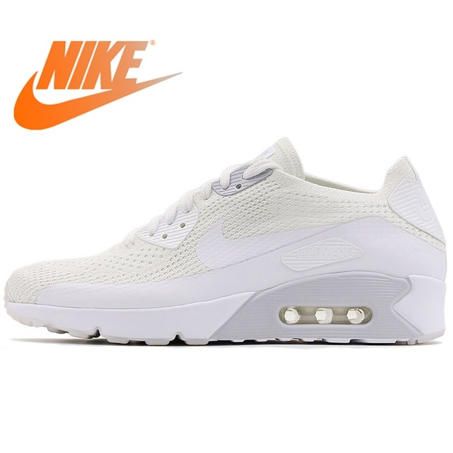 82b0c0c06b Original NIKE AIR MAX 90 ULTRA 2.0 FLYKNIT Men's Running Shoes Sneakers Nike  Shoes Men Breathable Cushioning Low Top 875943