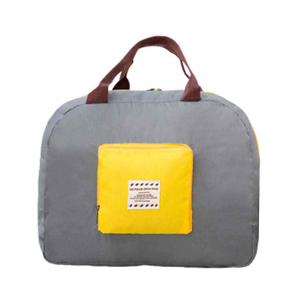 Large Capacity Fashion Travel Bag For Men Women Duffle Bag Canvas Solid Color Travel Carry On Luggage Bags Storage Folding Pack in Travel Bags from Luggage Bags