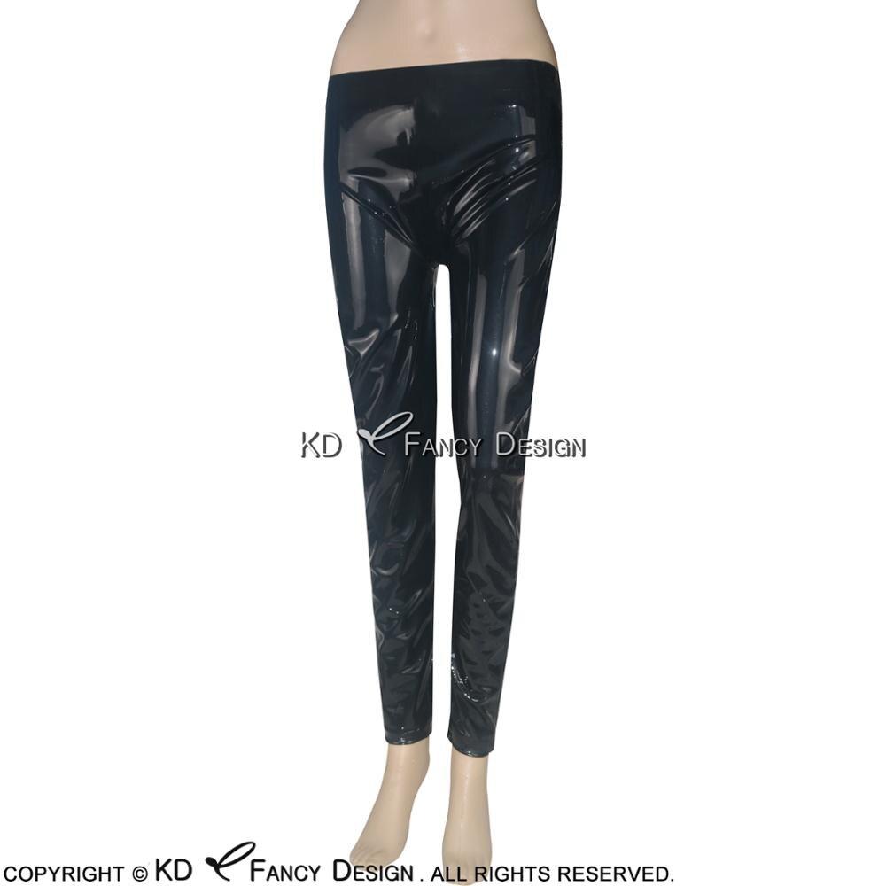 Suitop lattice di gomma rosso legging sexy in lattice pantaloni stretti per gli uomini - 6