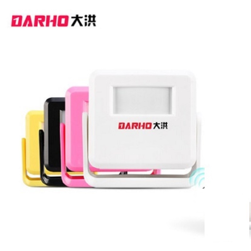 Darho Guest Welcome Chime Alarm Wireless DoorBell PIR Motion Sensor For Shop Store Entry Security Doorbell Infrared Detector