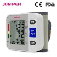 Automatic Digital LCD Display Wrist Blood Pressure Monitor Heart Beat Rate Pulse Meter Tonometer Sphygmomanometers pulsometer