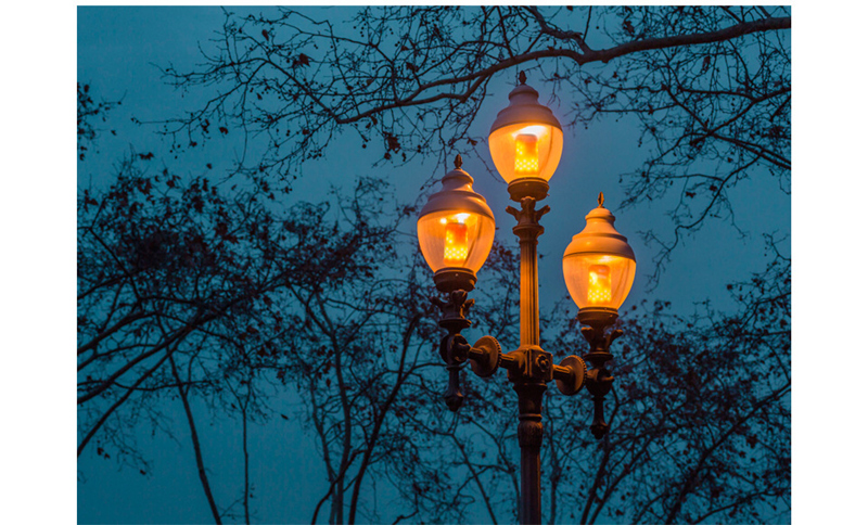 Emulação Atmosfera Lâmpada Decorativa Do Vintage Novo