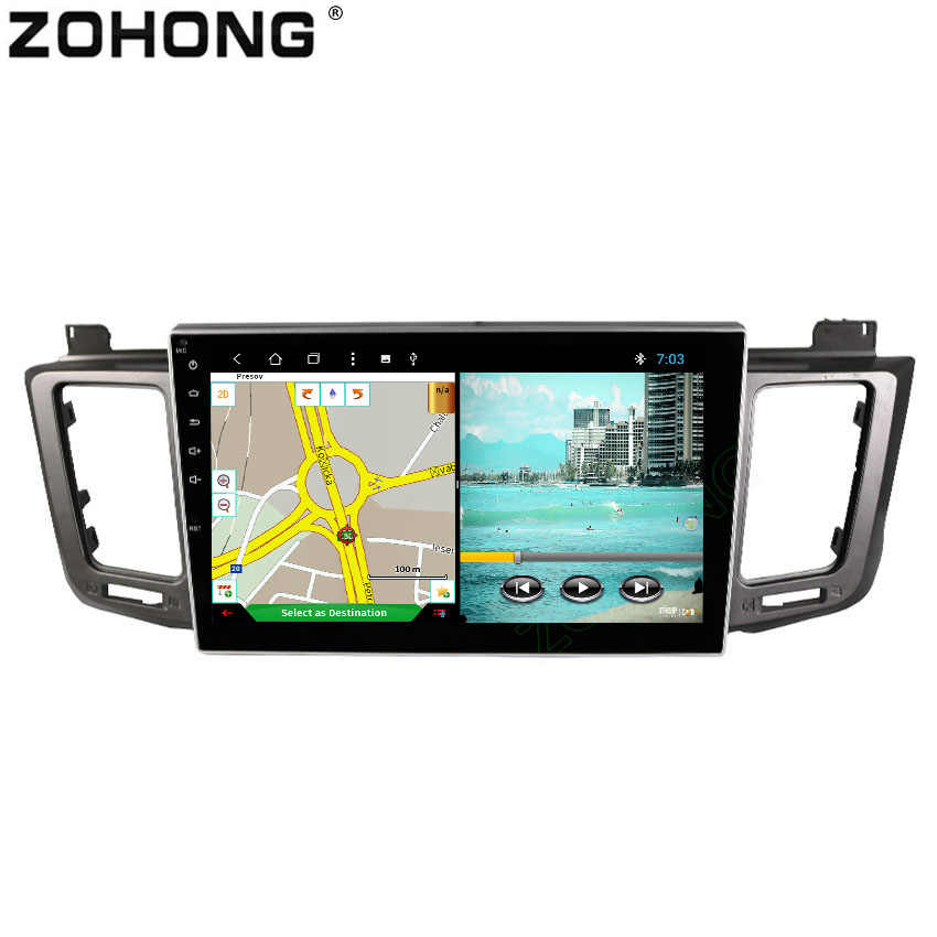 Car Radio GPS Android 9 0 1 Din For Toyota RAV4 2017 2015