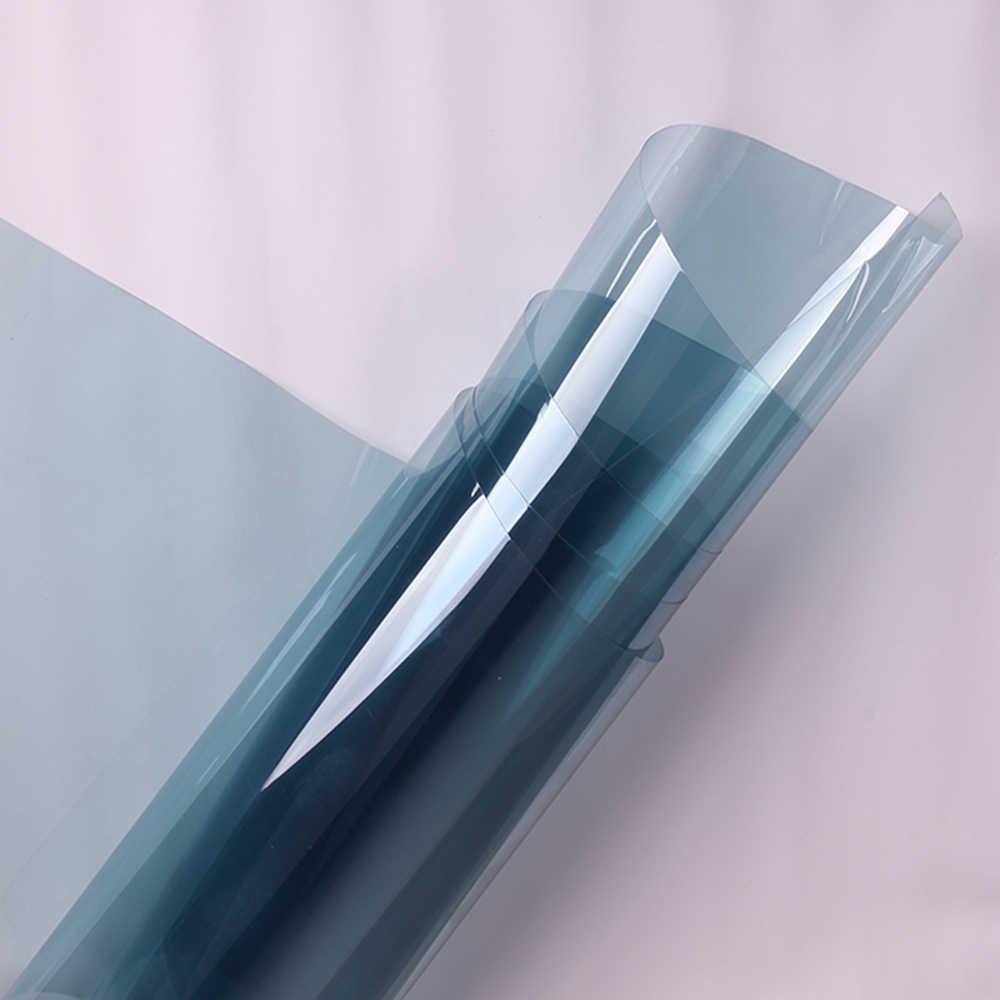 Light Blue 70% VLT หน้าต่างฟิล์ม nano เซรามิค Tint UV proof Auto รถด้านหน้าหน้าต่างฟิล์ม 152 ซม. x 50 ซม.