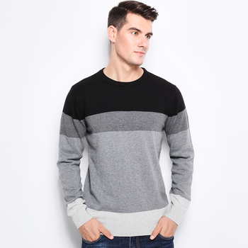 O-Neck Slim Fit Mens 100% Cotton Sweater