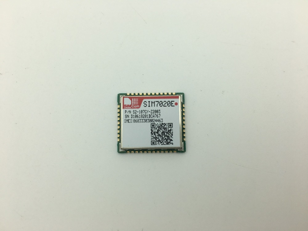 SIMCOM SIM7020 SIM7020E New&Original Multi-Band B1/B3/B5/B8/B20/B28 LTE  NB-IoT SMT type M2M module compatible with SIM800C