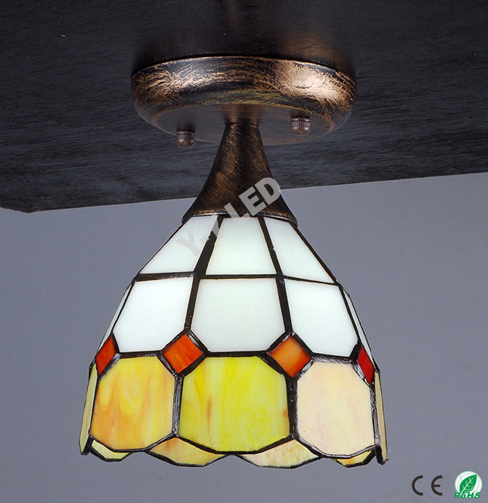 E27 Lamps And Lanterns Modern Glass Pendant Light Reverse Suction Tip Porch  Balcony Lamp Glass Lamp Restoring Ancient Ways In Ceiling Lights From Lights  ...