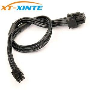Cable de alimentación XT-XINTE Mini de 6 pines a PCI-E, Cable de tarjeta de vídeo y gráficos de 30cm, Cable conector para Mac Pro G5 Macbook