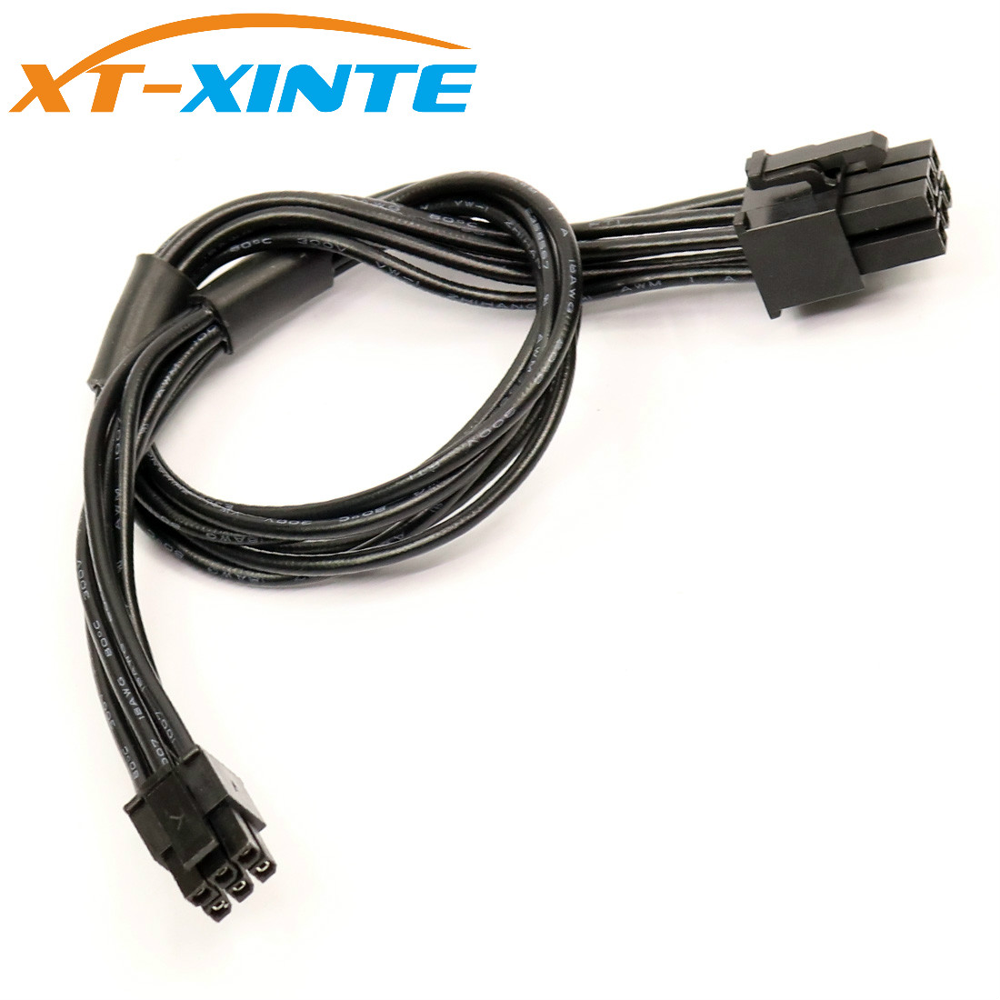 XT-XINTE Mini 6Pin To PCI-E 6PIN Power Cable Graphics Video Card Cord 30cm Connector Wire For Mac Pro G5 Macbook