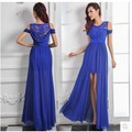 2016 Real Picture Tank lace party Homecoming Prom Gown Ball Formal Fish tail Long Evening dresses vestido de festa H0677