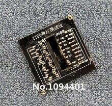 1 قطعة * Brand New LGA1155 LGA 1155 وحدة المعالجة المركزية المقبس تستر الدمية تحميل تحميل وهمية مع مؤشر LED
