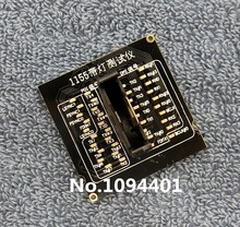 Soquete de cpu lga1155 lga 1155, carga falsa com indicador de led, 1 peça