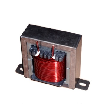 High-power shutdown inductor EE85 magnetic core transformer pure copper enameled wire with fixed bracket promotion