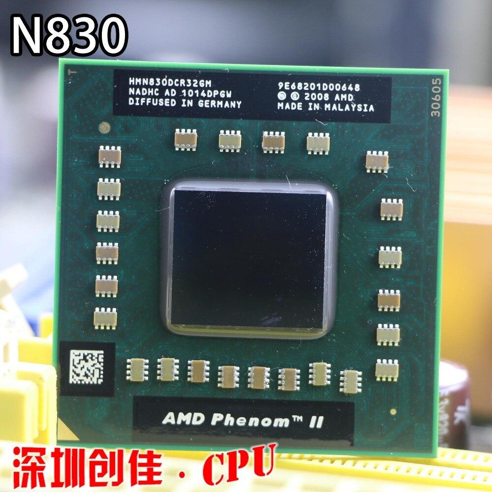 Originale AMD phenom N830 CPU HMN830DCR32GM Socket S1 (S1g4) 2.1G processore per il computer portatile notebook triple core