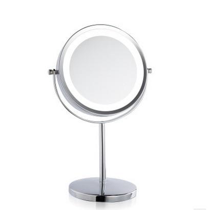 Haut Pflege Werkzeuge 3-in-1 Led Eitelkeit Make-up Spiegel Mit Led-leuchten Usb Aufladbare Tisch Bunte Bedsid Lampen Dressing Lagerung Box