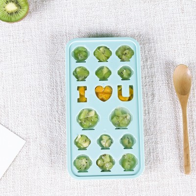 050 Kitchen Ice block mold household refrigerator cover ice box DIY ice box ice mould 23cm 10cm 5cm in Ice Cream Tubs from Home Garden