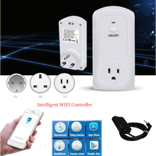 TS 5000 WIFI Wireless Temperature Humidity Thermostat Module APP Smart Remote Control Smart Timing Switch Socket